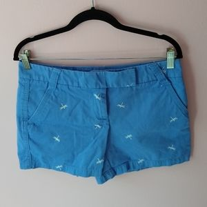 j crew dragonfly dress shorts